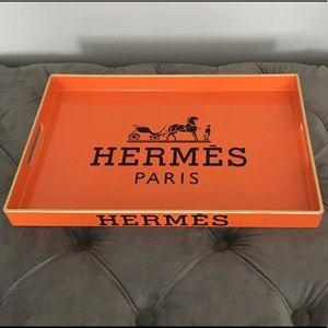 Designer Style Orange Tray